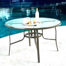 patio table top replacement parts marble round idea glass and inch to