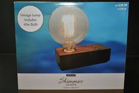 Ashland Shimmer Lights 10 Count Ashland Shimmer Lights Vintage Creative Collection Brand New With Edison Bulb