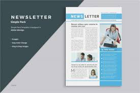 Modern Newsetter Resume Templates Template Creative Resume Templates Free Download Word