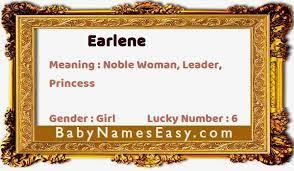 Earlene Name Meaning | Meaning Of Earlene | BabyNamesEasy