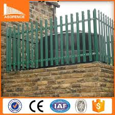 Small Picture 2015 Alibaba China Professional Prefab Palisade Fencingdecorative