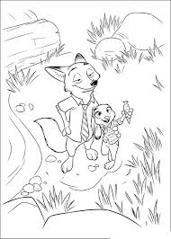 We draw animals for colouring almost daily. Zootopia To Color For Kids Zootopia Kids Coloring Pages