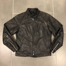 vintage schott nyc cafe racer cowhide leather motorcycle jacket medium small 38 1 of 8 see more