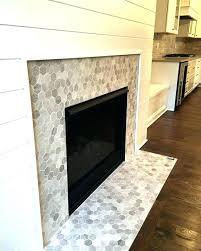 glass tile fireplace surround slate tiles for black dark granite surrounds marble blue