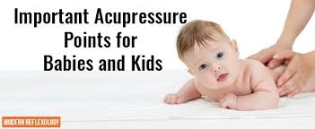 Reflexology For Babies Chart Healing Acupressure Points For Kids And Babies