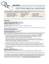 Office Assistant Resume Sample Best Unique Resume Examples Example Of Medical Assistant Resume Regular