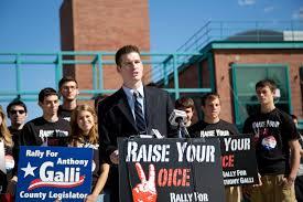 "Galli ""rallies"" for legislature seat - Pipe Dream"