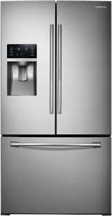 samsung dual ice maker refrigerator. Fine Maker Dual Ice Maker In Freezer Samsung RF28HDEDTSR  Front For Refrigerator