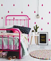 colorful patterned bedding