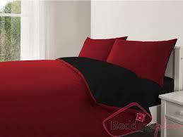 reversible duvet cover red black 11 95