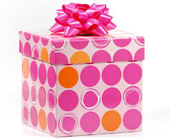 dotted gift box