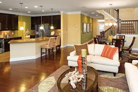 Kitchen And Living Room Colors Open Concept Kitchen And Living Room Thats Exactly What I Want