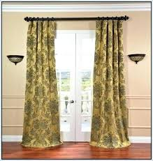 swing curtain rod rods for curtains arm french doors home design ideas door uk