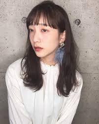 韓国風前髪スタイル集2019女性最新のオルチャン前髪をマスター