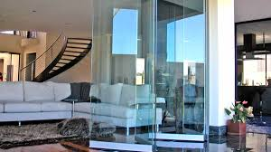 bi fold doors with an open view