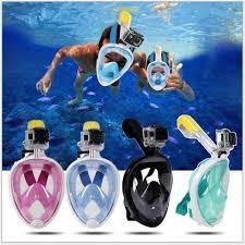 Masks Diving Mask <b>Full Face Snorkeling Mask</b> Underwater Anti Fog ...