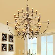 wish prodotto caldo gino sarfatti designed 2097 chandelier 30 bulbs lights chandelier living room pendant light