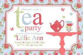 Tea Party Free Printables Tea Party Printable Invitations Free Tea Party Tea Party
