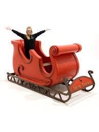 santa s sleigh prop