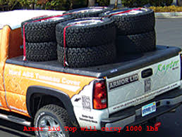 Armor Lid is a hard truck bed cover made of ABS plastic and supports ...