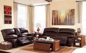 Reclining Living Room Sets Damacio Dark Brown Reclining Living Room Set From Ashley U9820081
