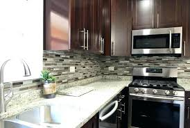 backsplash for white countertops with white contemporary kitchen with glass mosaic and dark cabinets white subway tile with white grey backsplash with white