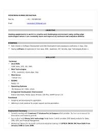 Resume Sample Java Resume Samples Java Resumes Sample Java Resume