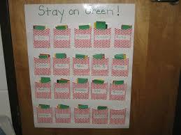 Kindergarten Behavior Color Chart Behavior Management Strategies For Kindergartners Wehavekids