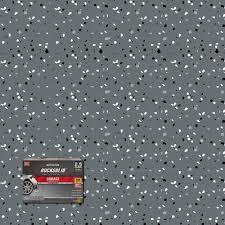 Rust Oleum Rocksolid 152 Oz Dark Gray Polycuramine 2 5 Car Garage Floor Kit