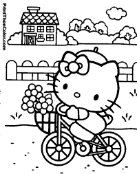 Hello Kitty Colring Sheets Hello Kitty 334 Cartoons Printable Coloring Pages