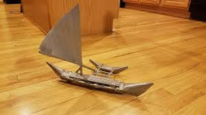 picture of duct tape moana boat