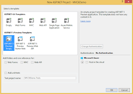 Creating Your First ASP.NET MVC 6 Application Using c# From Scratch ...
