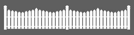 white picket fence. White Picket Fence Pattern Stencil Glue Vinyl Wall Stickers For Nurseries Kindergarten Interior Decor,free Ship-in From Home \u0026 Garden On