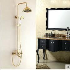 shower head for tub tub faucet shower attachment wall mounted golden brass bathroom rain shower head