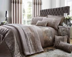 antoinette duvet set with pillowcase s in latte duvet sets bedding direct uk