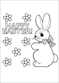 Coloring Pages Easter Printable Color Egg Coloring Pages Printable