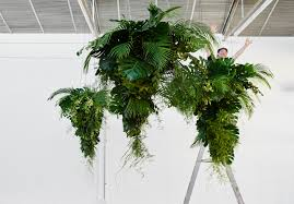 how to make monstera chandeliers