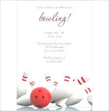 Bowling Invitation Best Bowling Invitation Template Event Party Flyer Baycabling