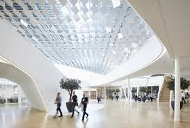 lava designs new light canopy for philips lighting headquarters