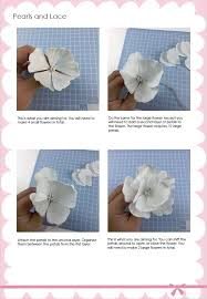 Pearl S Crafts Paper Flower Templates Pearls Lace And Wafer Paper Flowers