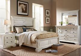 Traditional King Bedroom Sets Claymore Park F White 8 Pc King Panel ...