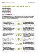 Firo B Cpp Product Detail Firo B Interpretive Report For Organizations R