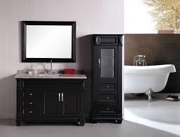 Adorna  Single Bathroom Vanity Elegantly Constructed Of Solid - Oak bathroom vanity cabinets