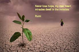 Never Lose Hope Rumi Quotes On Hope Kalam E Rumi Enchanting Quotes About Hope