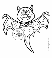 Small Picture Stunning Cute Halloween Bat Coloring Pages Gallery New Printable
