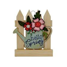 Add nature to your spring home décor with this flower wall sign. Water Yahoo Shopping