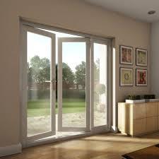 image of modenrn interior sliding french doors