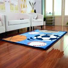 sports area rugs rug themed theme kids space indoor boston for nursery team