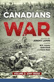 canadians and war volume vimy ridge lammi publishing inc recent posts