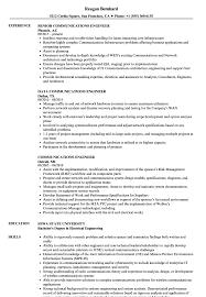 Communications Engineer Resume Samples Velvet Jobs